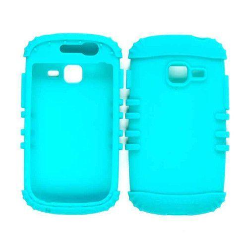 Unlimited Cellular Rocker Series Skin Case for Samsung Galaxy Discover Centura R740 (Blueish Green)