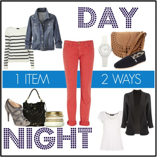 1 item 2 ways/ day to night outfit