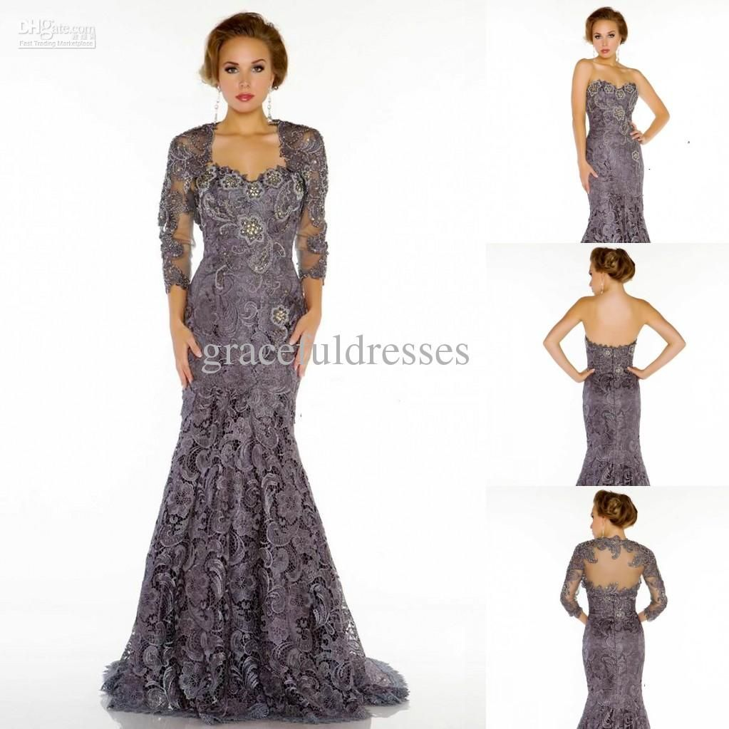 Plus Size Evening Gowns with Jackets
