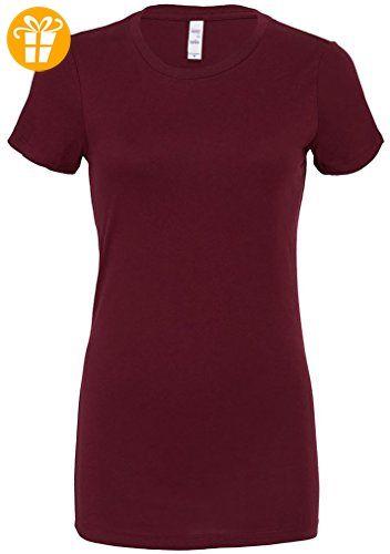 Bella+Canvas-Damen-The favourite t-shirt, Longer body length tshirt (*Partner-Link)