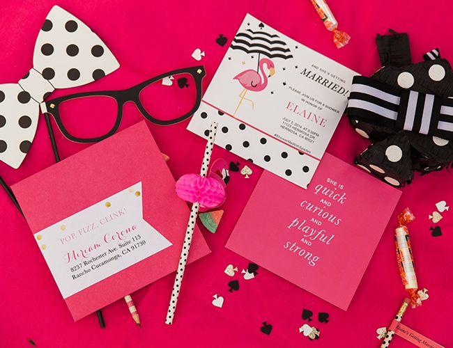 kate spade bridal shower - inspired by this wedding blog   wedding, Wedding invitations