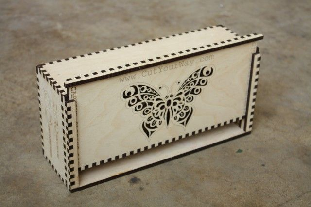 custom laser cut finger jointed boxes pinterest custom boxes laser cutting and box. Black Bedroom Furniture Sets. Home Design Ideas