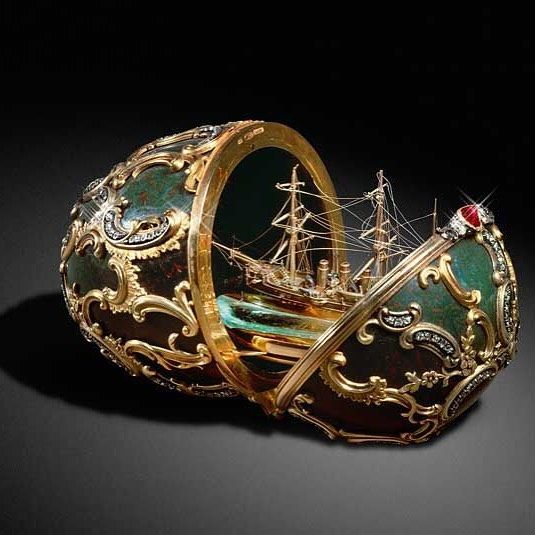Did you know the faberg eggs were commissioned by tsar alexander did you know the eggs were commissioned by tsar alexander iii of russia as easter gifts for his wife negle Gallery