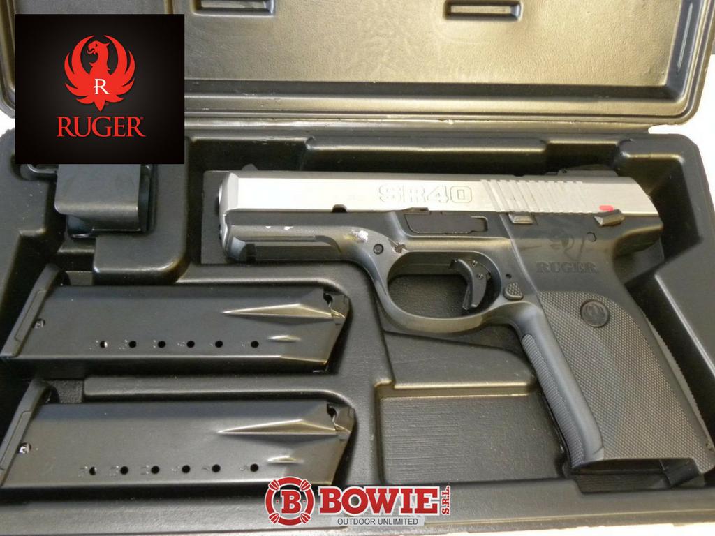 Ruger SR40 Model 3470 DISPONIBLE Calibre  40 S&W Capacidad
