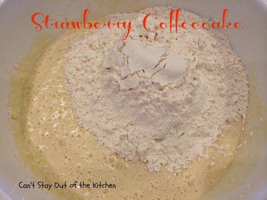 Strawberry Coffeecake