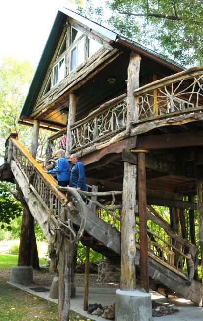This is my Dads Treehouse!