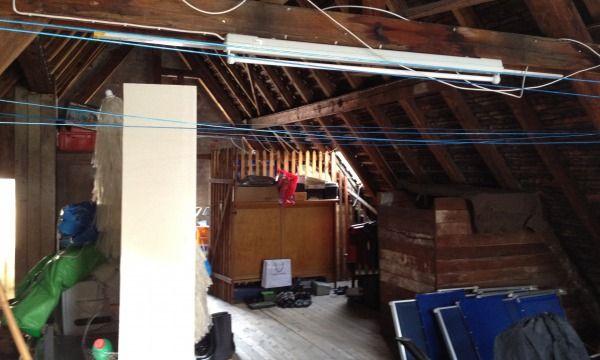 Vom Dachboden Zum Wohnraum Vorher Dachboden 1 Vorher Nachher