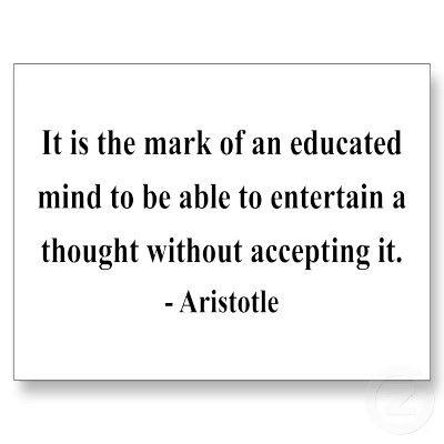 Aristotle Quote 1a Postcard   Zazzle.com