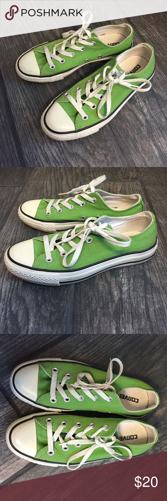 Converse Chuck Taylor All Star Like new! Converse Chuck Taylor All Stars. Men's size 4, women's 6. Excellent condition! Converse Shoes Sneakers
