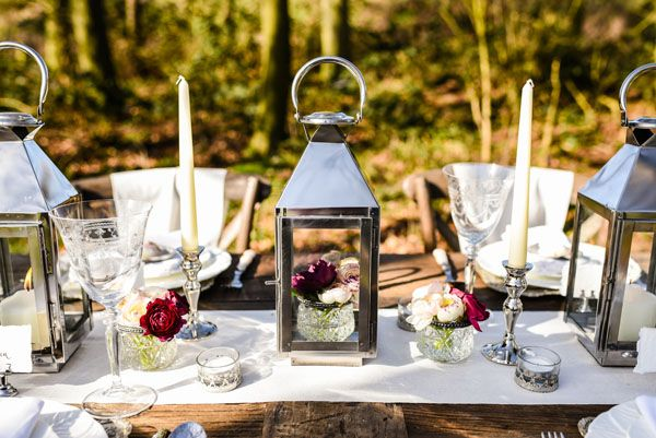Silver and Glass Wedding Decorations – Laid Back Elegance – SHOP ...