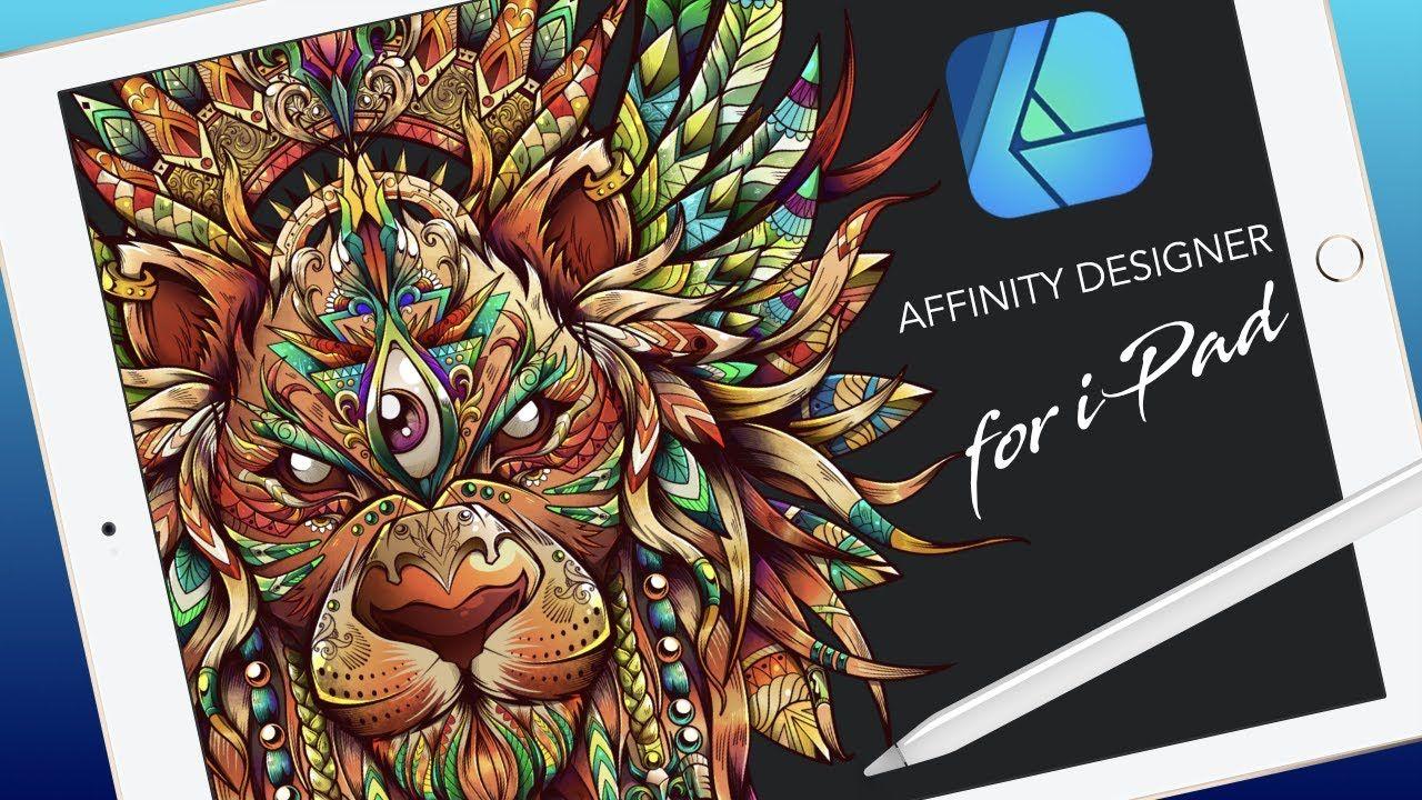 Affinity Designer for iPad FULL TUTORIAL YouTube
