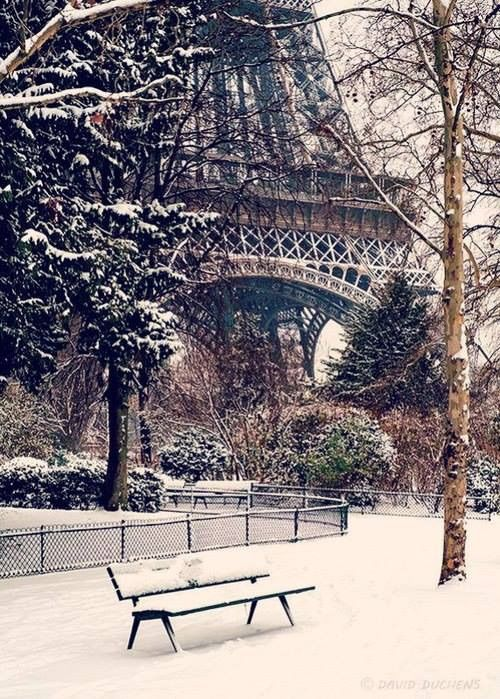 Eiffel Snow voglia di Parigi