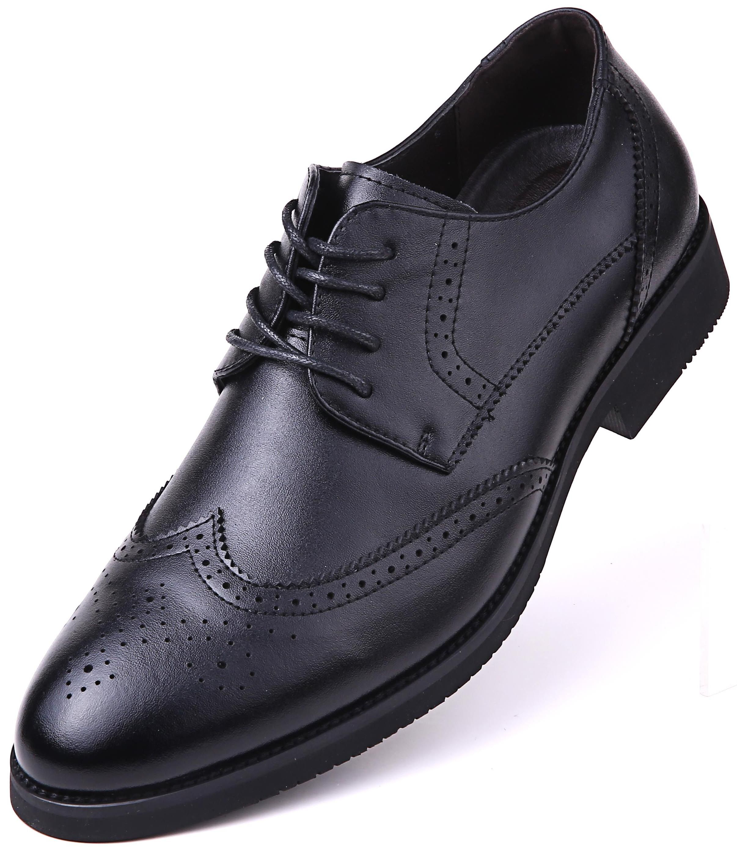 Mio Marino Mio Marino Dressports Wingtip Shoes For Men Walmart Com Mens Wedding Shoes Black Dress Shoes Wingtip Shoes [ 2772 x 2412 Pixel ]