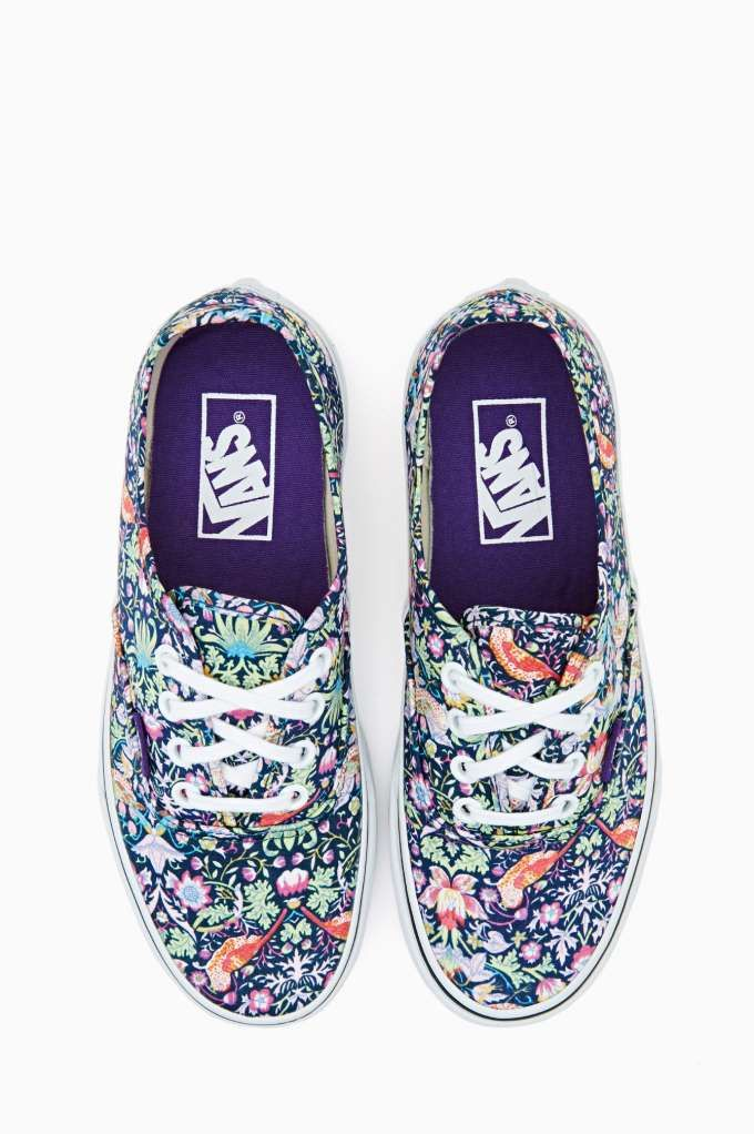 97bac8e379 Vans Authentic Sneaker - Psychedelic Floral