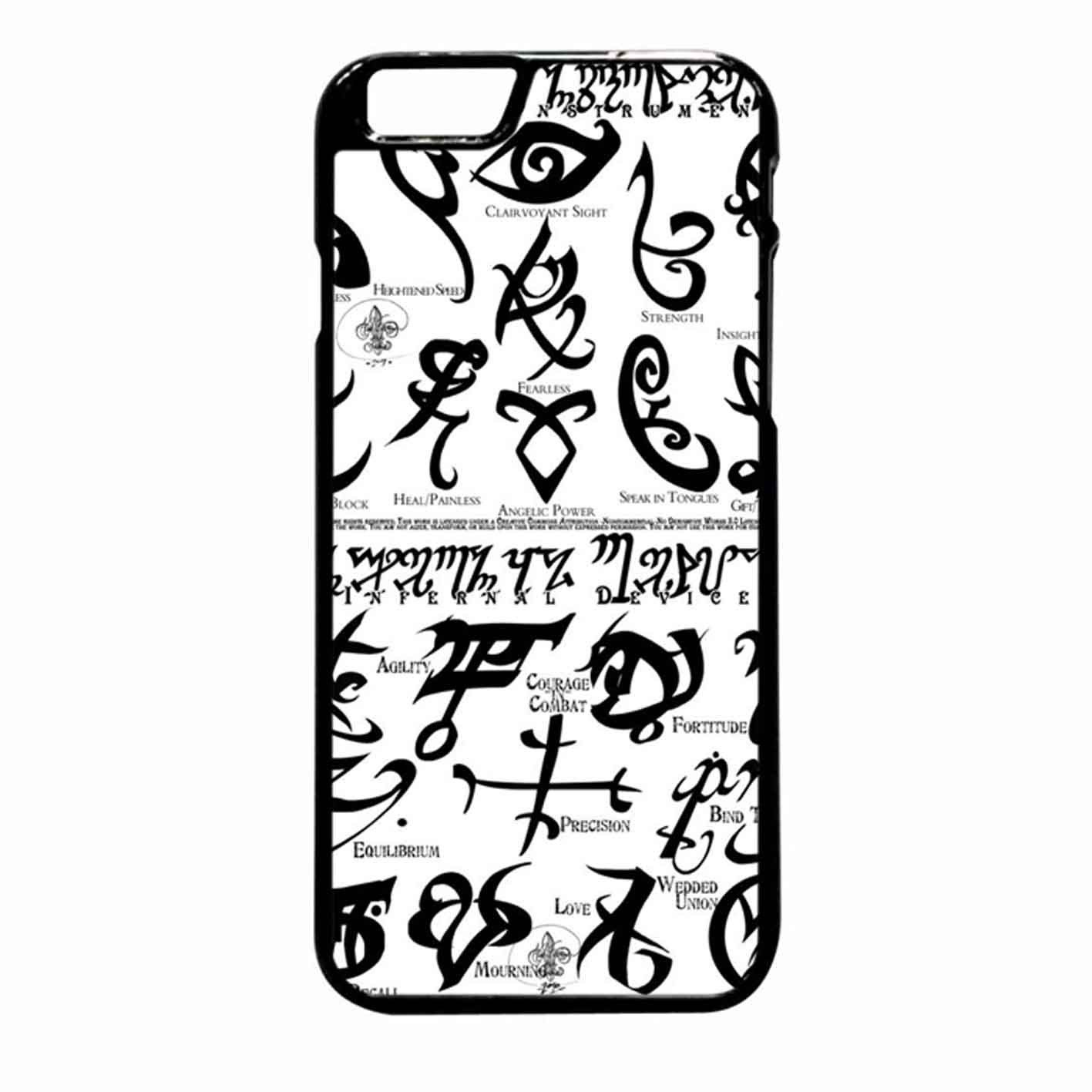 Mortal Instrument Logo iPhone 6 Plus case Samsung galaxy