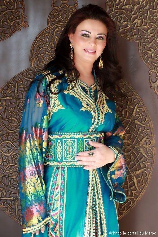 Latifa Raafat,Moroccan Singer wearing Caftan  | My