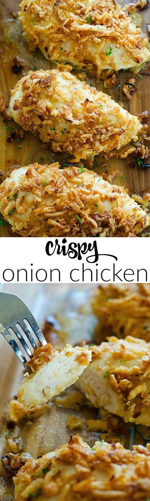 Crispy Onion Chicken #howtofryonions