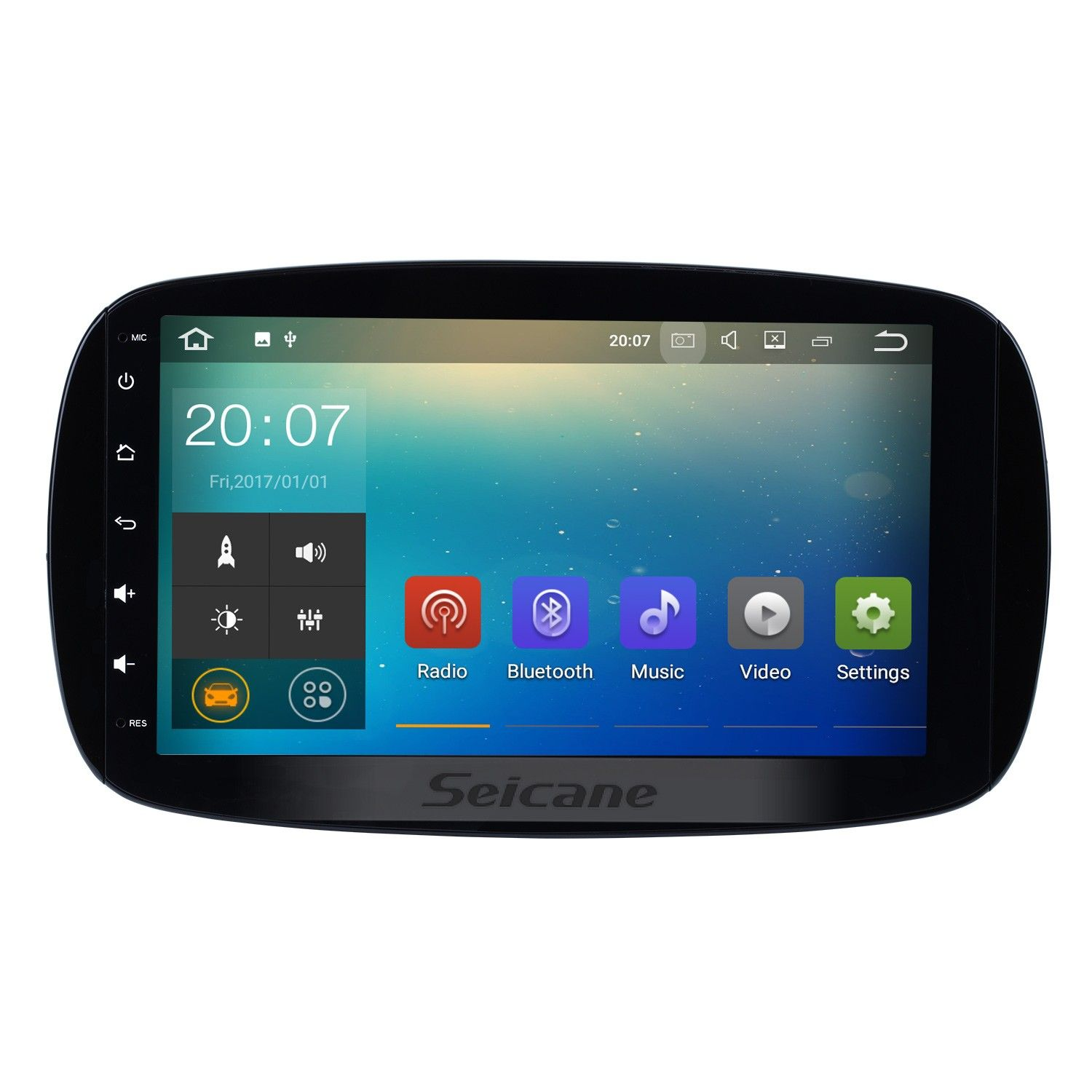 Seicane 9 Inch Android 7 1 Hd 1024 600 Touchscreen Radio For 2017 2016 Mercedes