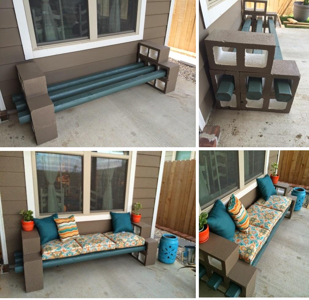Pry Posse - Diy Cinder Block Bench Garden Tips And