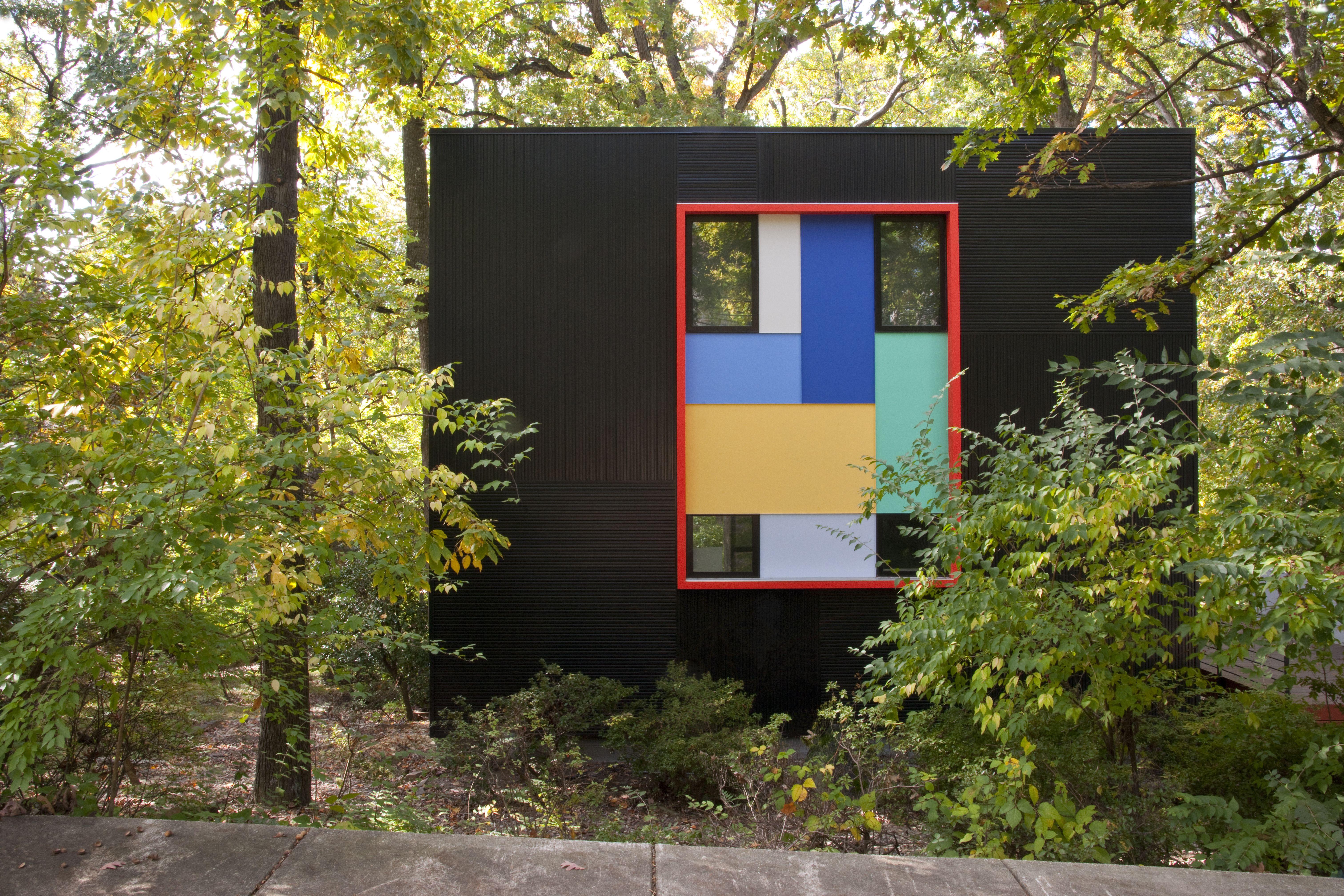 Renovation transforms drab Maryland house into a 'magic box'