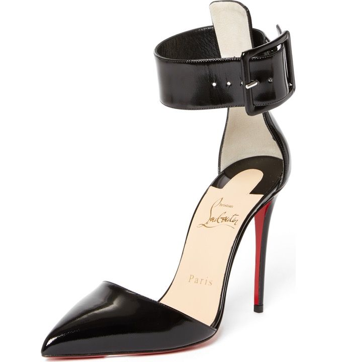 cheap for discount a9ca3 60f5e Main Image - Christian Louboutin Harler Ankle Strap Pump ...