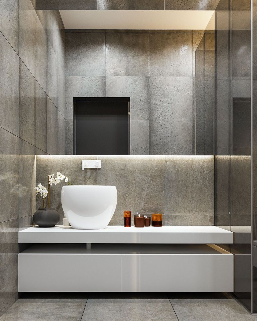 Modern contemporary bathroom design ideas collections that worth to