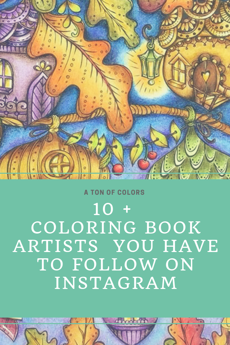 Are Coloring Books Your Hobby In This Post Interviews With The Best Coloring Books Artists From Instagram Get Ti Coloring Books Artist Books Coloring Journal