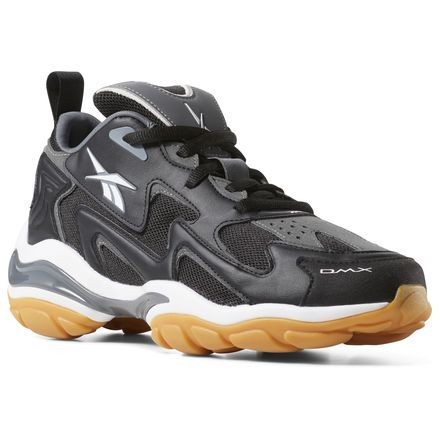 cb2a89a15ab Reebok Men s DMX Series 1600 in Black   Alloy   White Size 9 - Retro  Running Shoes