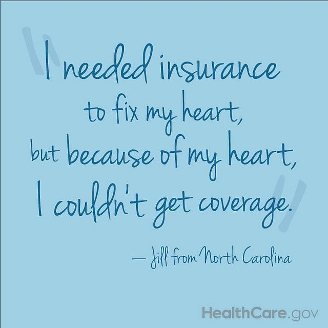 A Quote About Health Insurance From Jill From North Carolina