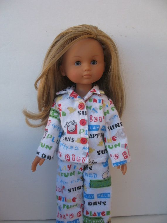 Corolle Les Cheries Doll Pajamas by PachomDollBoutique on Etsy, $13.99
