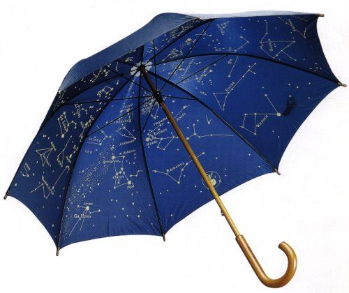 eef44e2a7152 Wholesale star sky full imprint Wooden Straight Promotion Umbrella ...