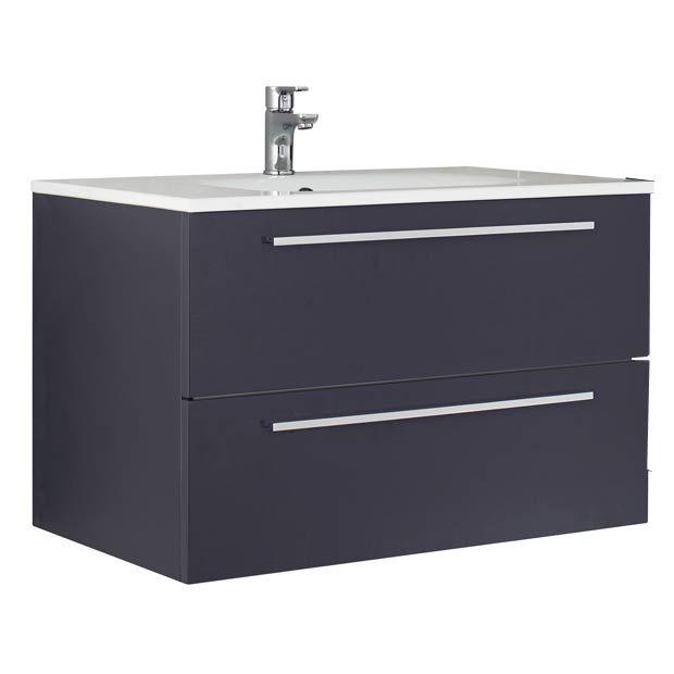 A prendre en blanc Mod¨le Fokus L 80 cm meuble sous vasque