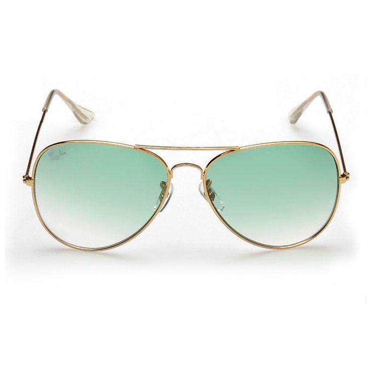 Pilot green lenses unisex beach party sunglasses   Bespoke Fashion ...