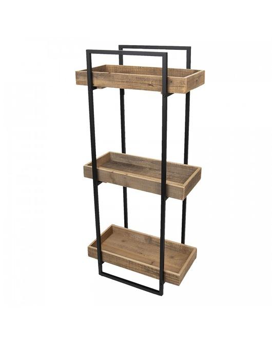 Kwietnik Stojak Z Drewna Z Odzysku Pakamera Pl Bookcase Home Decor Shelving Unit