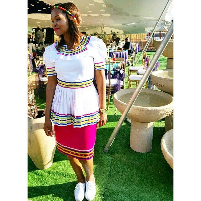 African Fashion Dresses, Sepedi