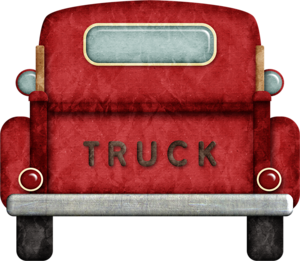 Pickup Truck Sideview Clipart Png And Print Sheet Set Etsy Pickup Trucks Truck Storage Pickup Trucks Camping
