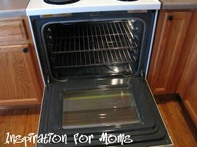 Inspiration For Moms: 21 Days To A Clean Organized Home: Day 6- Lovin' The Oven Clean