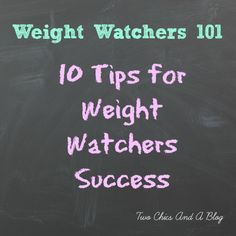 Tips for Weight Watchers Success