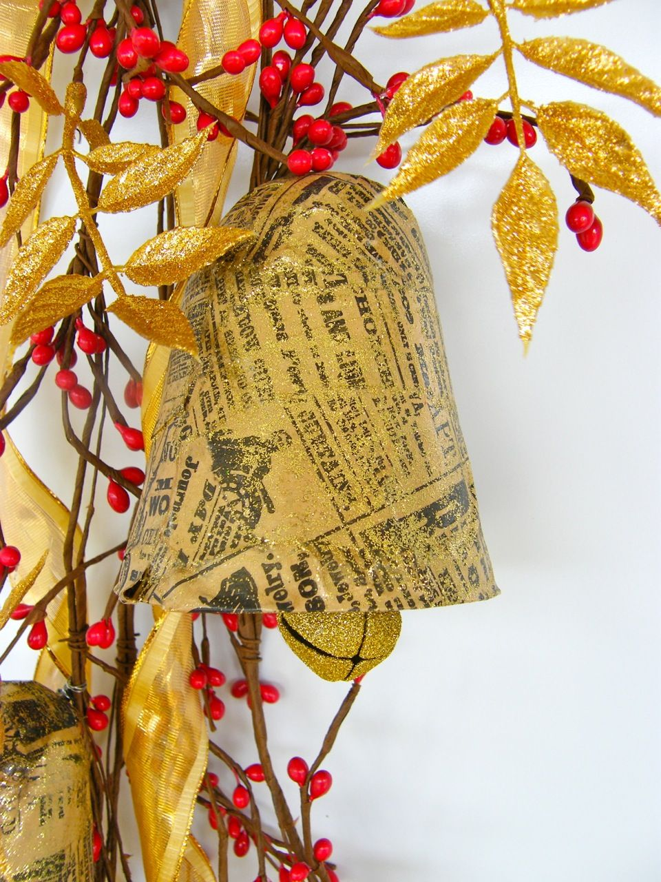 I liked this bell & would use sheet music to cover it instead of newspaper. Do you think it will ...