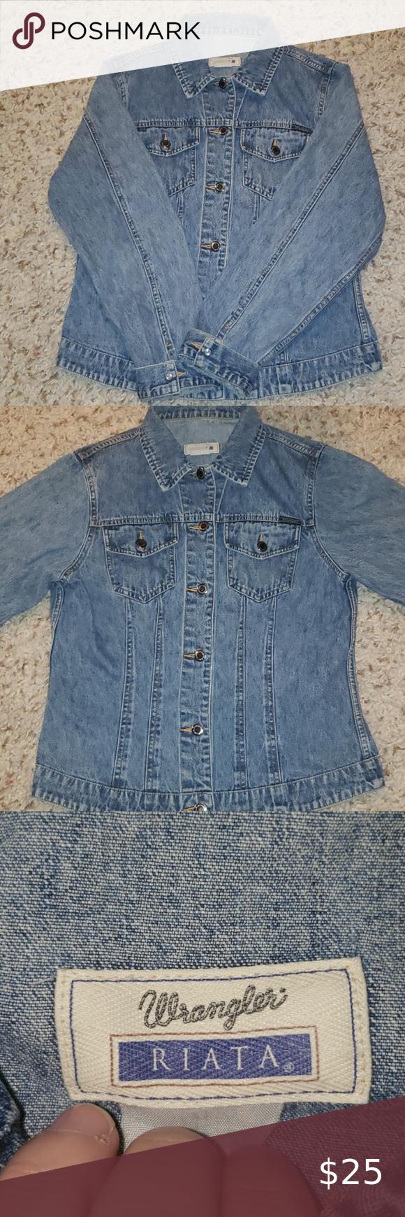 Wrangler Riata Style Denim Jean Jacket Women S S Jean Jacket Women Denim Fashion Jackets For Women [ 1740 x 580 Pixel ]