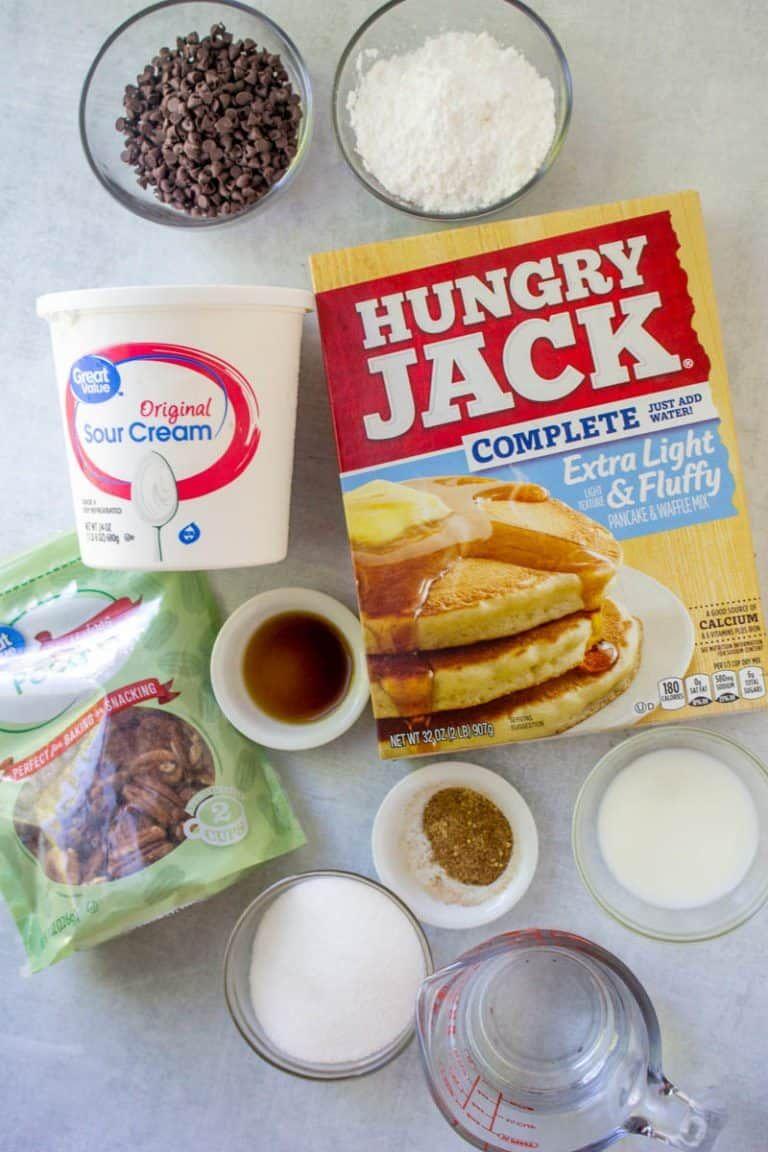 Easy Chocolate Chip Coffee Cake Recipe Hungry Jack