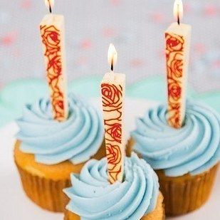 A Set Of Birthday Candles You Can Eat