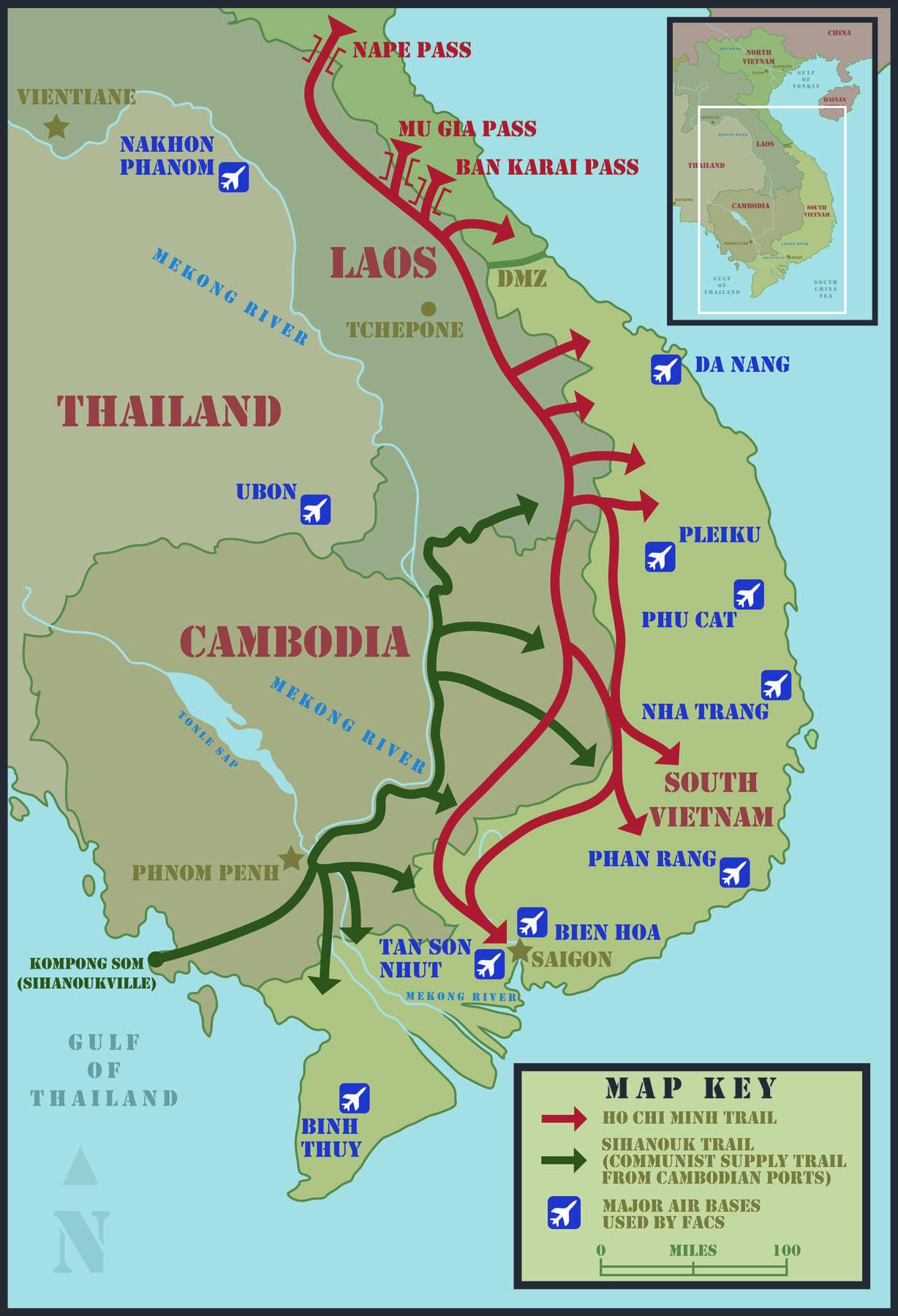 Ho Chi Minh Trail Highway 9 Khe Sanh Combat Base Military Stuff