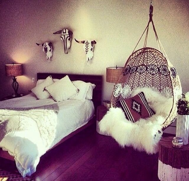 That chair yes but pleaso no dead animals above my head for Indian themed bedroom