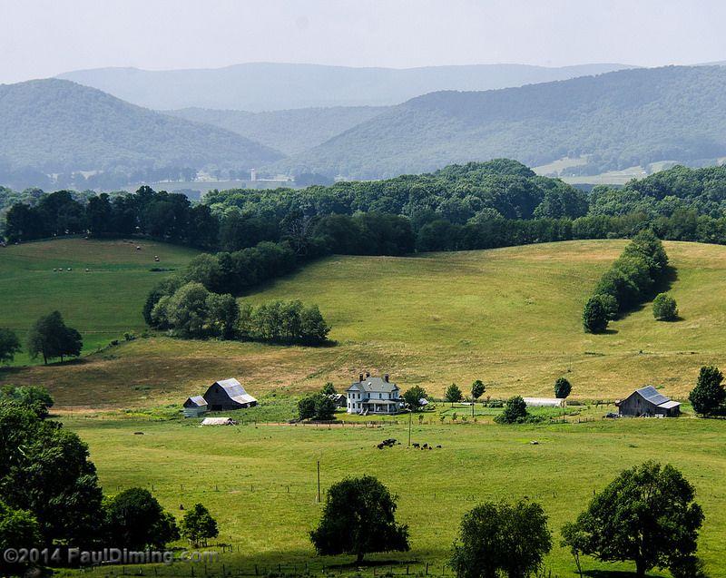 Farm View II from VA SR 623 - Burke\'s Garden, VA | Virginia ...
