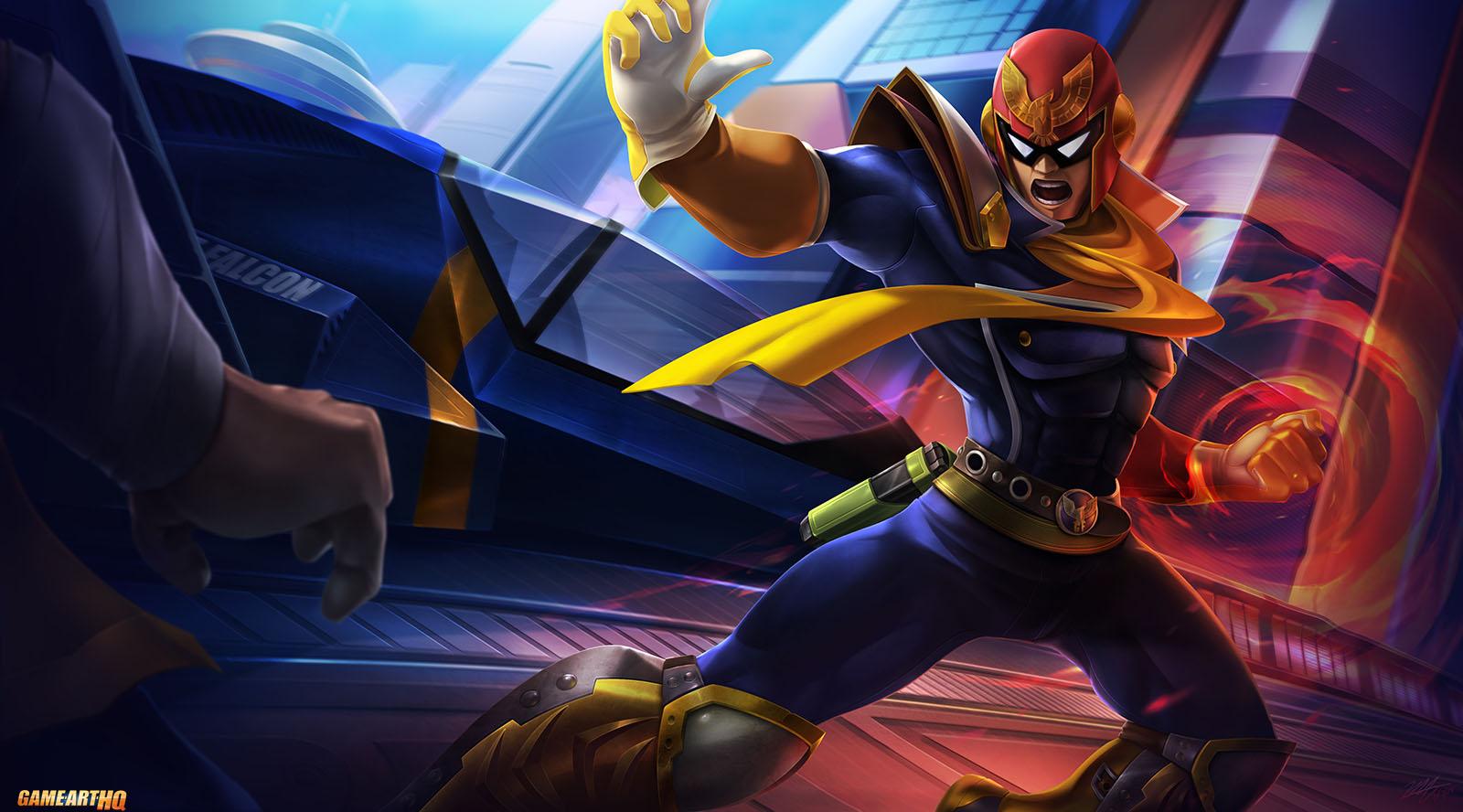 Captain Falcon - Nintendo - F-Zero - F-Zero X - FZero - FZero X - F-Zero GX  - FZero GX - fanart - fan art | Smash bros, Super smash bros, Super smash  brothers