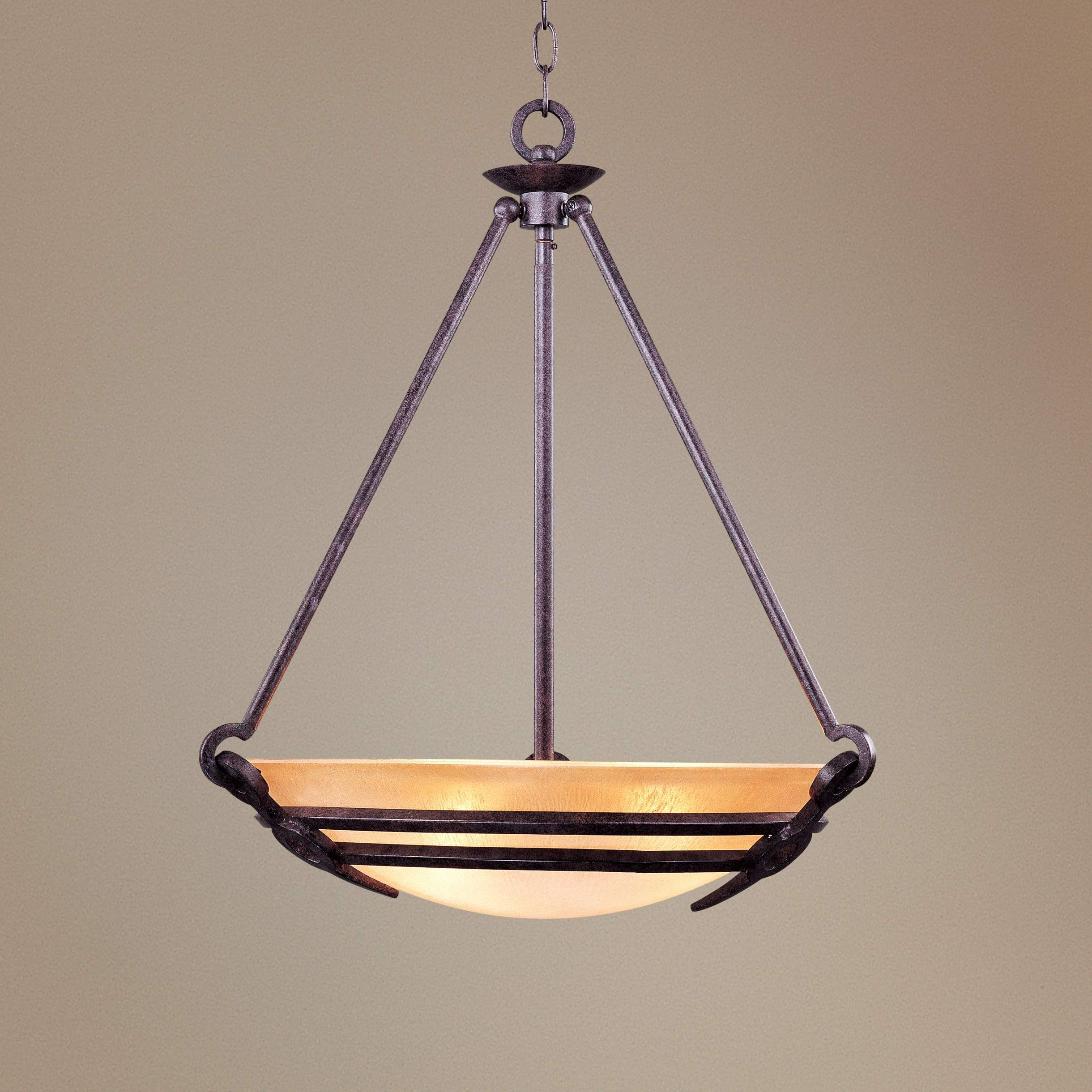 California Mission Style Pendant Chandelier Style