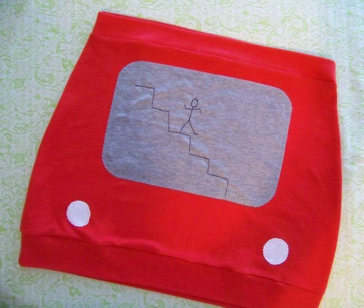Etch A Sketch Skirt   DudeIWantThat.com