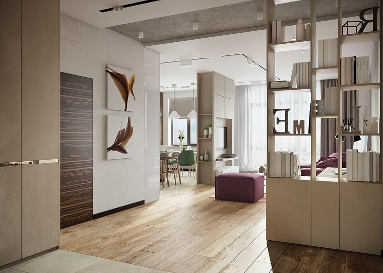 Arredamento Moderno Elegante : Arredo moderno open space elegante sofisticato home nel
