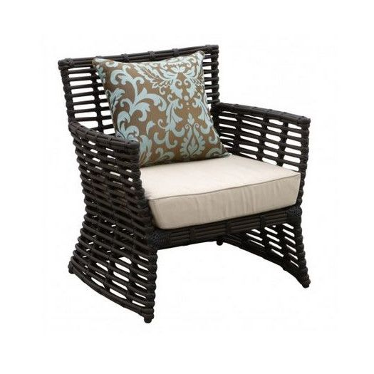 Venice Patio Chair With Cushion Lounge Chair Outdoor Club